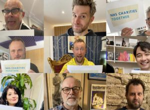 Comedians unite for NHS single